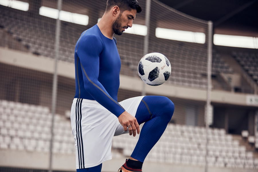 Adidas Alphaskin Baselayer Luis Suarez