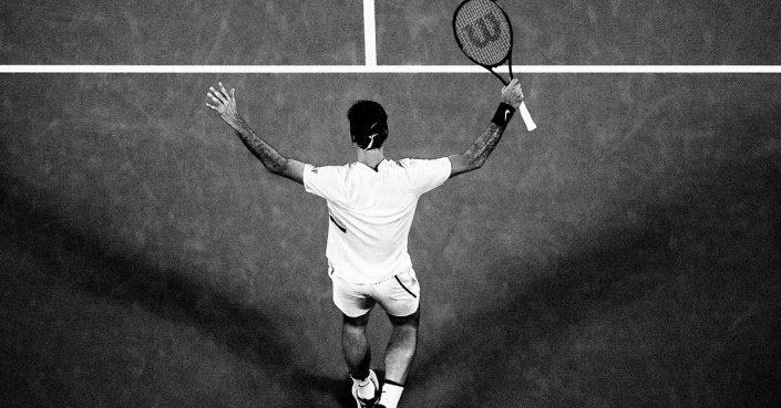 Nike Celebrates Roger Federer's 20th Grand Slam