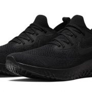 Black Nike Epic React Running Shoes
