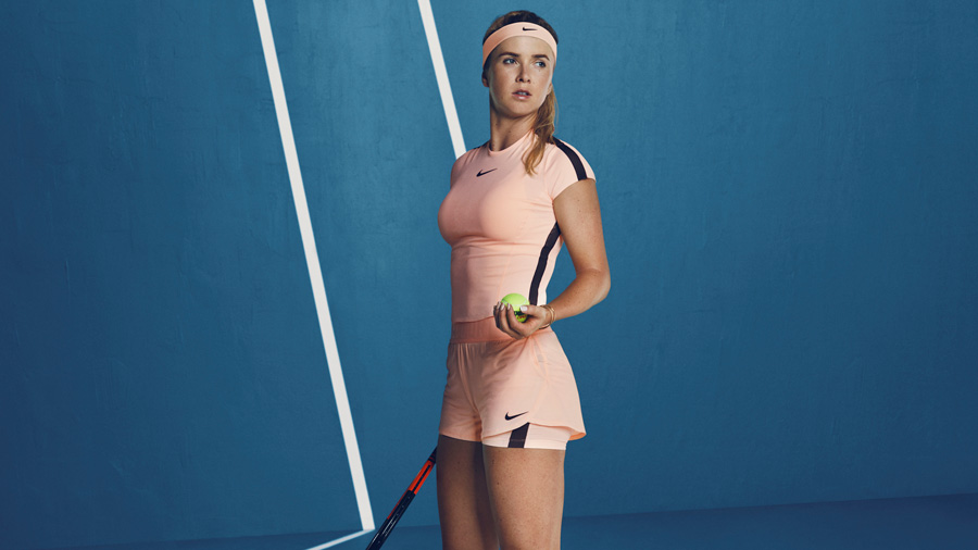 Elina Svitolina and Nike goes Pink in Australian Open 2018