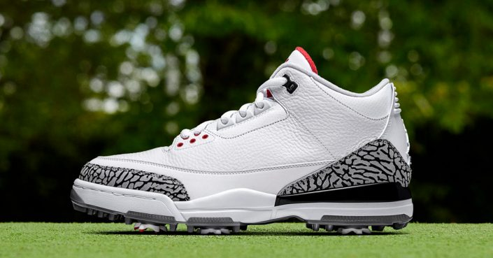 Nike Air Jordan 3 Golf Shoes