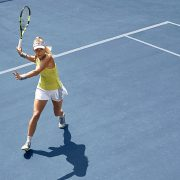 Caroline Wozniacki in the Adidas Tennis Collection for Australian Open 2018