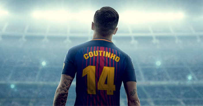 Phillipe Coutinho FC Barcelona Shirt